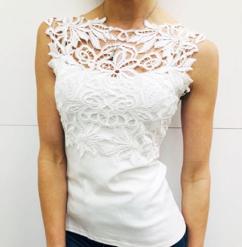 Bianca Lace Top